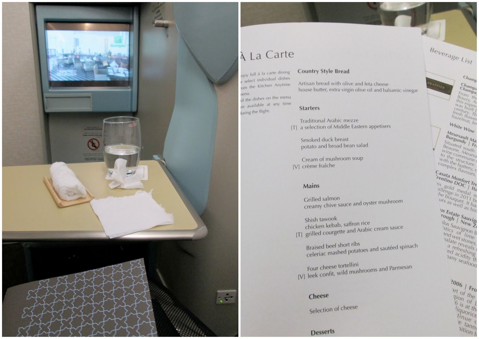Etihad Business Class Flight: New York – Abu Dhabi