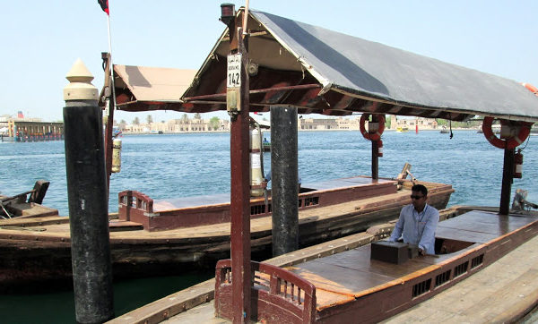Old Dubai Part 1 : Crossing Dubai Creek