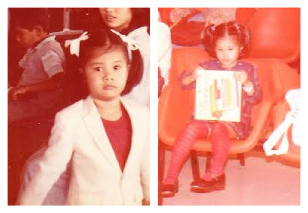 Jean, aged 4. 1985