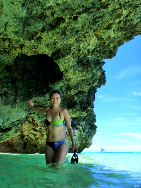 Puka Beach is still a must- see, if you really must go to Boracay