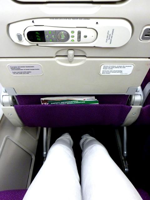 leg space- lots!