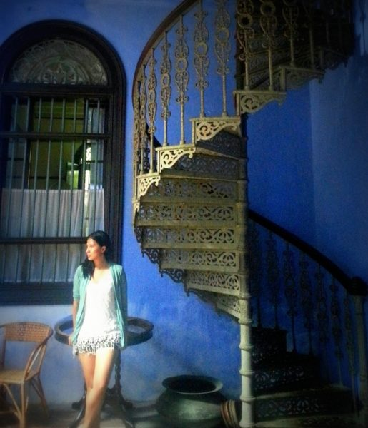 50 Shades of Blue in Penang (Penang Blue Mansion)