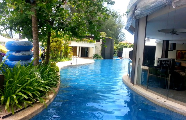 Hotel review hard rock hotel resort in penang malaysia - Hard rock hotel penang swimming pool ...