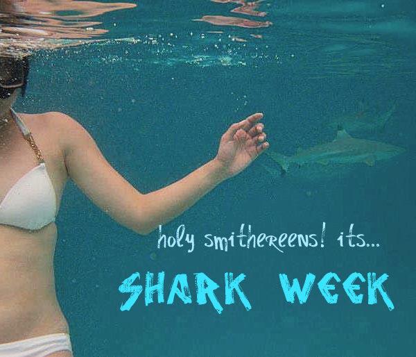 Aye Caramba! It's Shark Week!
