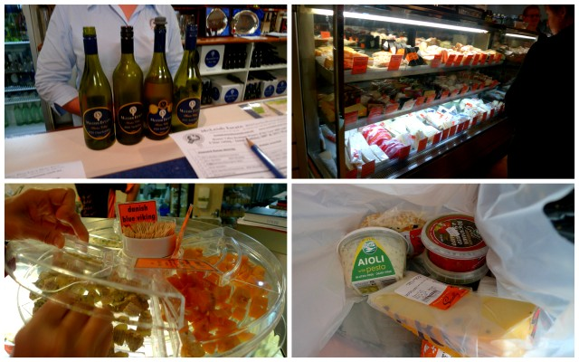 wine, chocolate, cheese and dips: just a sampling of what I got up to in Hunter Valley!