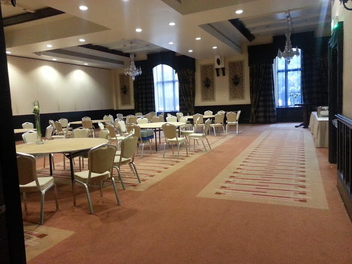 events hall at the Clontarf Castle Hotel