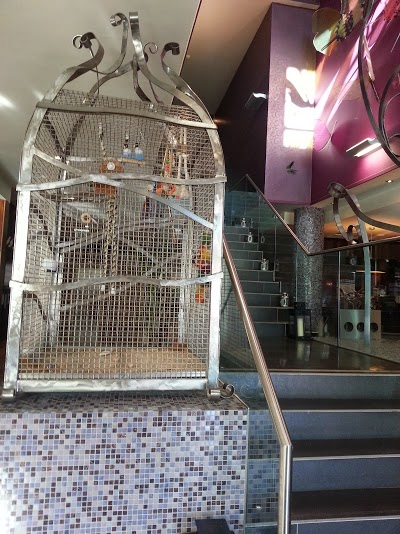 Giant Birdcageat the front reception of Crowne Plaza Blanchardstown