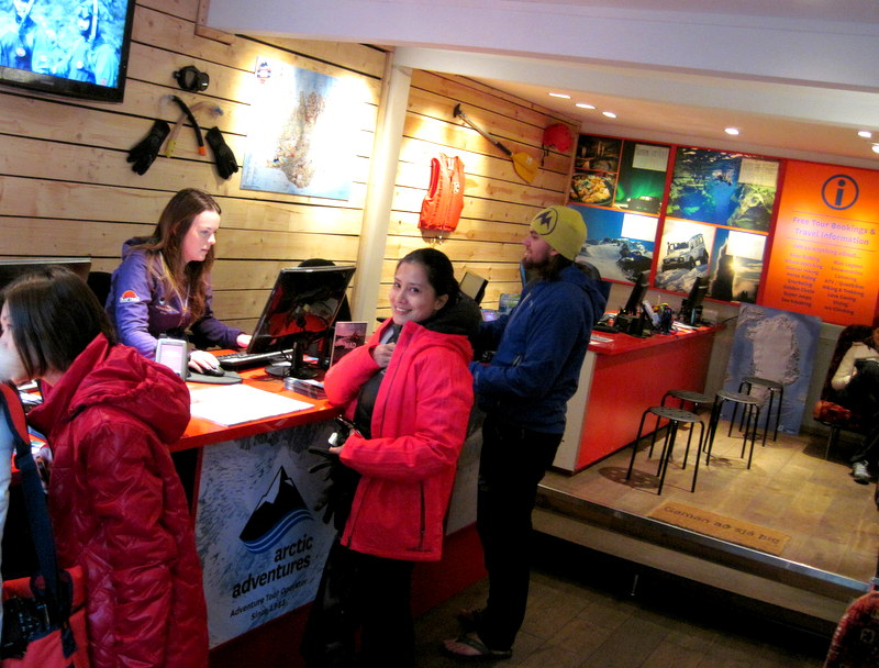 Arctic Adventures in Laugavegur St in Reykjavik