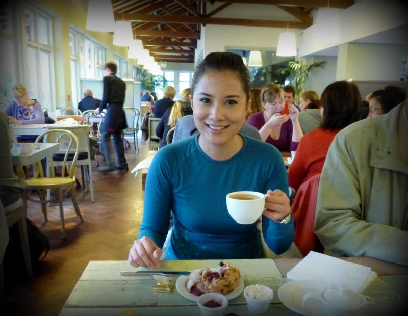 Morning Tea at Avoca's Sugar Tree House. Kilmacanogue. Wild Wicklow Tour.