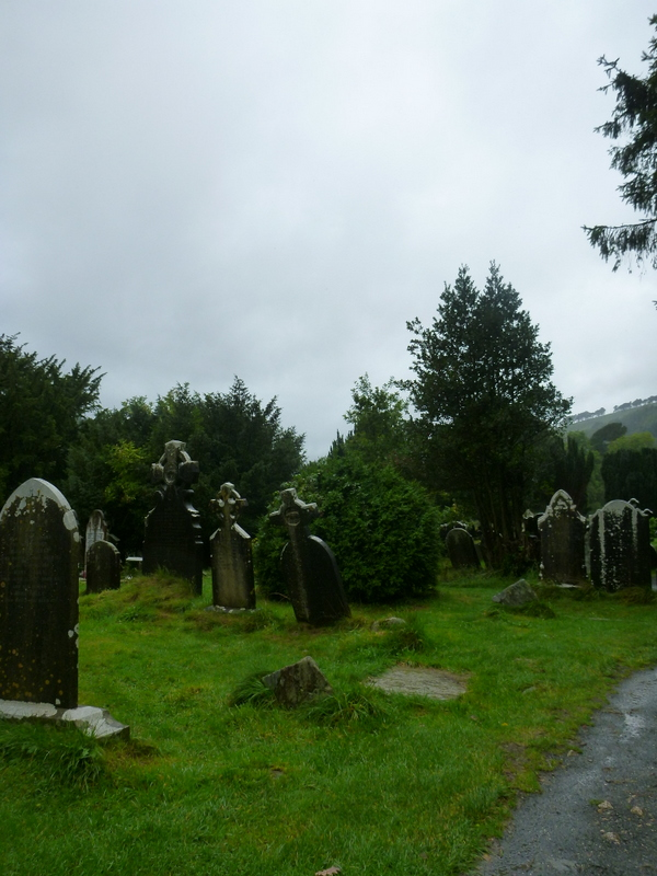 Monastic Ruins at Glendalough, Wicklow County. Wild Wicklow Tours