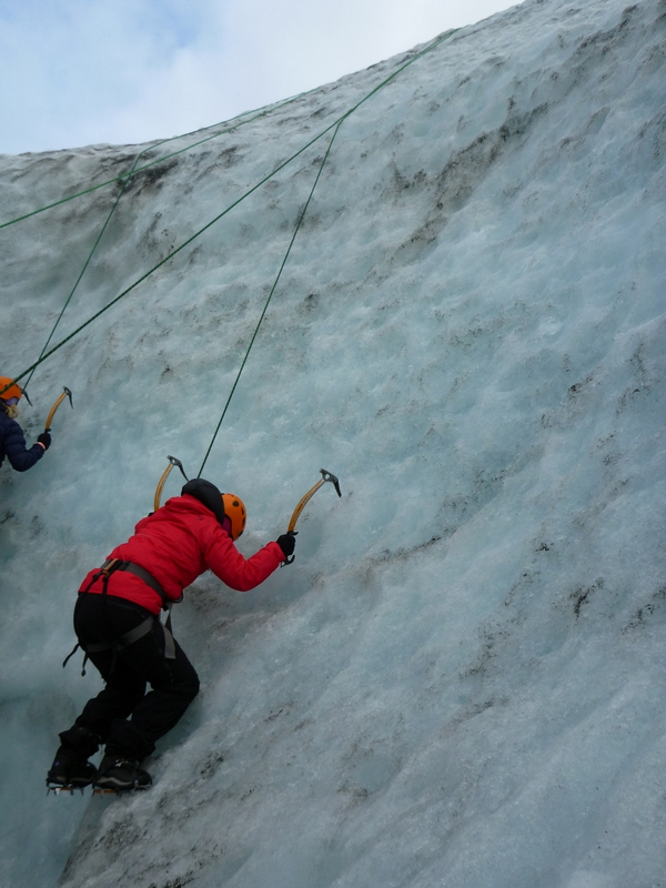 Ice Climbing in Iceland:It ain't like rock climbing