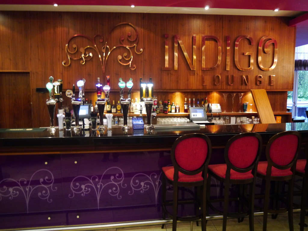 Indigo Lounge at the Clontarf Castle Hotel