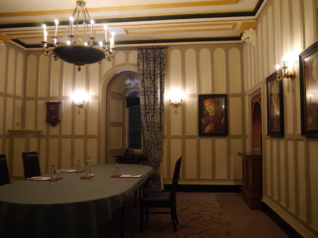Meeting or function room at the Clontarf Castle Hotel