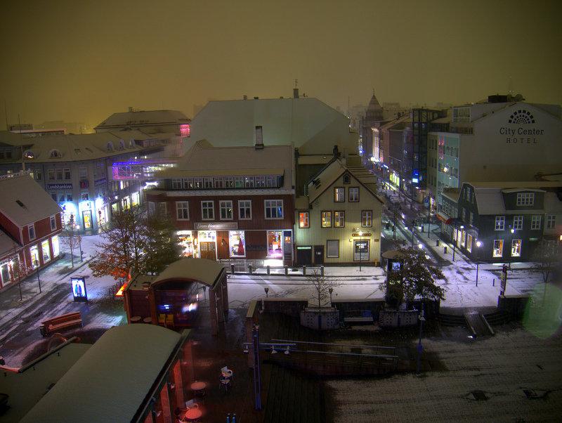Winter Wonderland Almost Reykjavik S First Snow For 2017