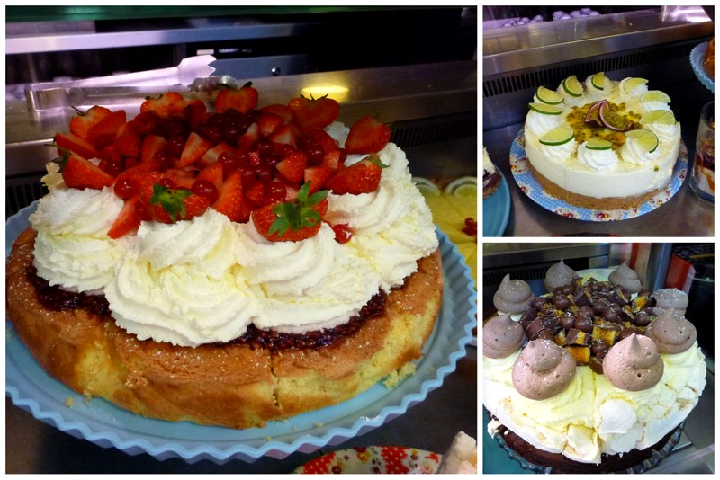Cakes from Avoca's Sugar Tree Cafe , Kilmacanogue