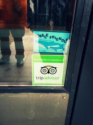 Mar Restaurant in Reykjavik: Whale Free! :)