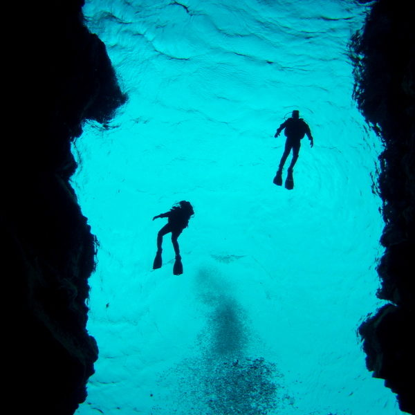Scuba Diving in Iceland: Clean and Clear, Bluer than Blue.