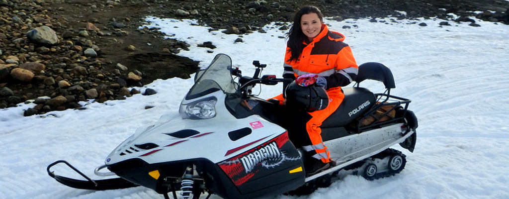 Iceland Activity: Snowmobile Adventure on a Glacier