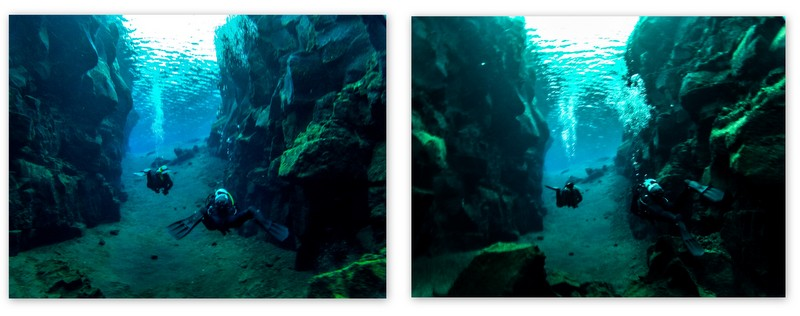 diving iceland