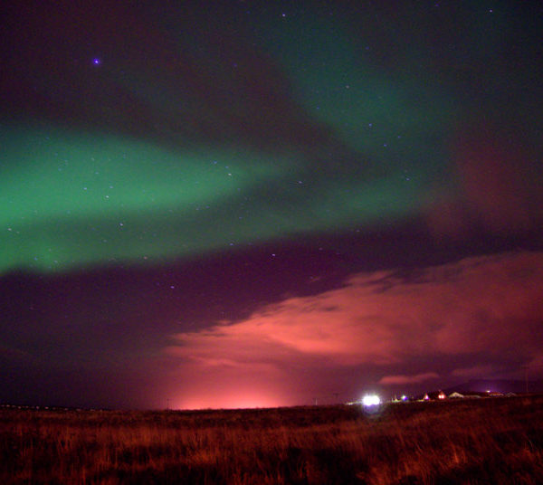 Watching the Northern Lights Dance in Iceland