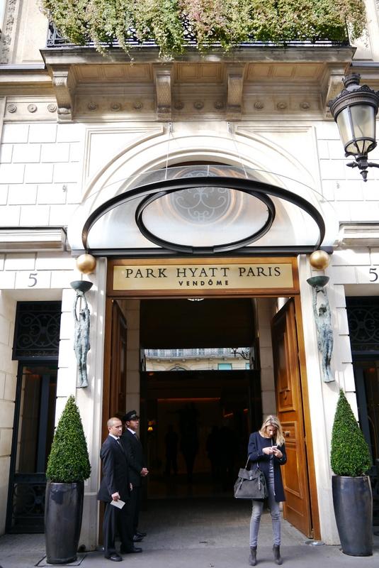 Park Hyatt Paris Vendome A Five Star Hotel In Paris That