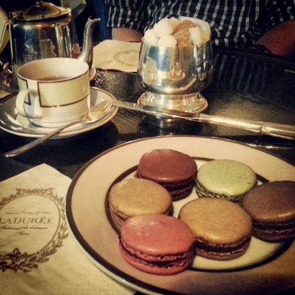 Afternoon Tea: Laudree Maison de Macarons, Saint Germain des Pres, Paris