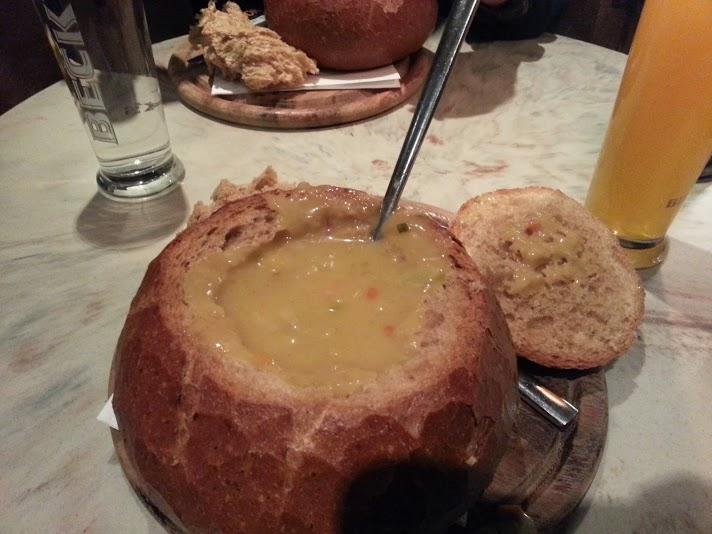 Soup in a Bread Bowl. Reykjavik.