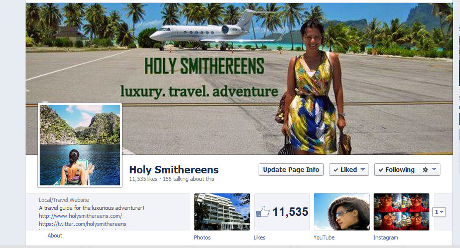 Holy Smithereens Facebook Page