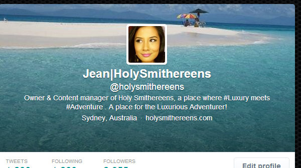 Holy Smithereens Twitter Page