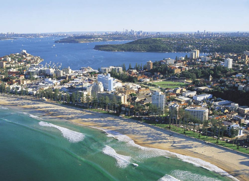 Manly Beach. Image from Sydney.com