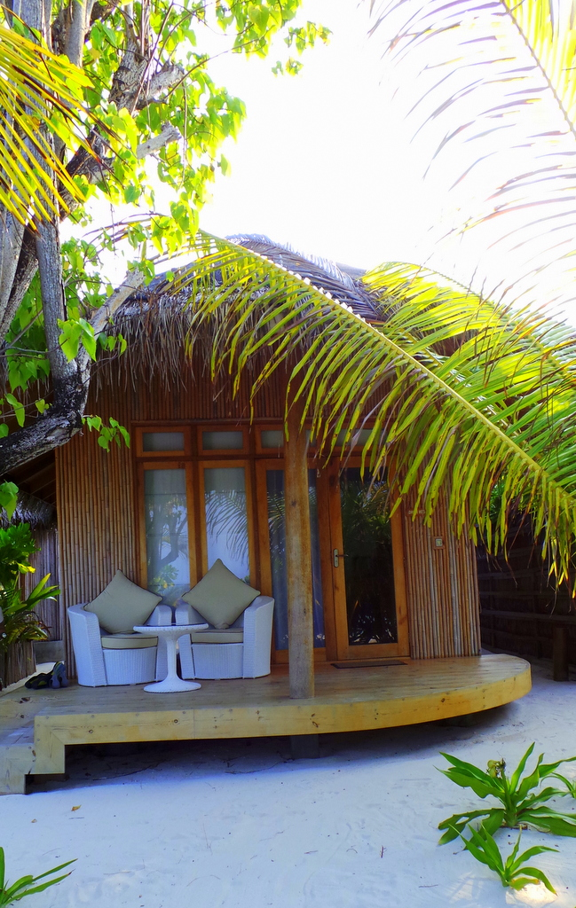 Maldives' version of cabin in the woods.