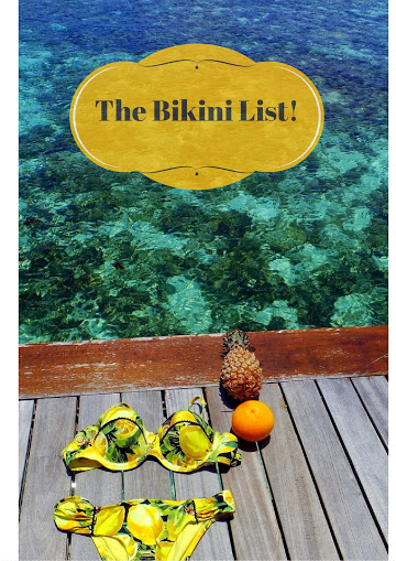 What to Pack for the Maldives: A well thought-of bikini list!