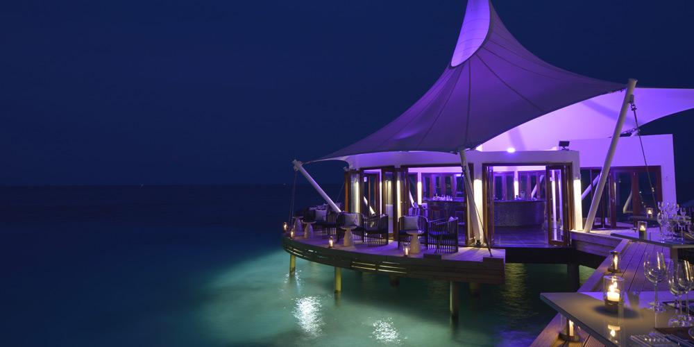 Edge Bar in Niyama Resort, Maldives