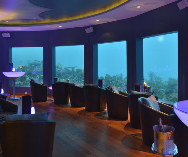 Subsix- The World's First Underwater Nightclub