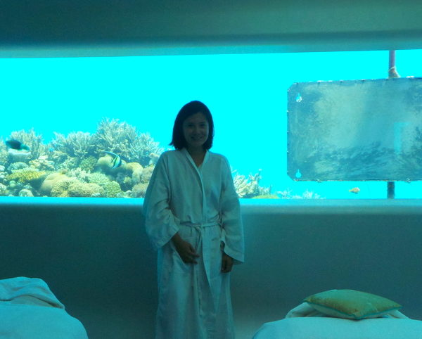 Underwater Spa in Huvafen Fushi : The Ultimate Indulgence in the Maldives