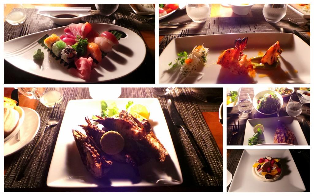 Dinner at Ocean Grill, Kurumba Maldives