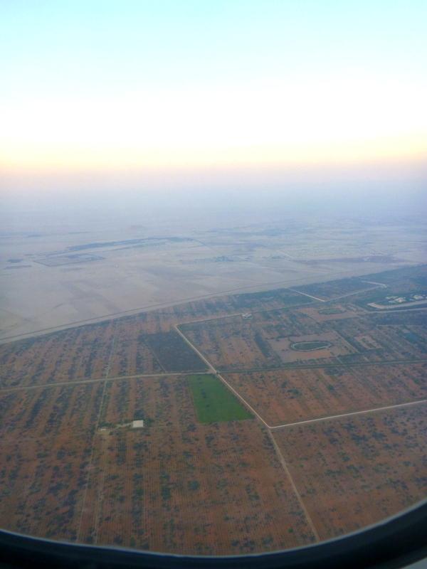 landing into Abu Dhabi