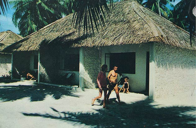 Kurumba Maldives in the 1970's