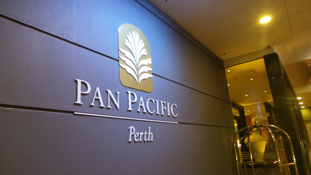 Pan Pacific Perth: Entrance
