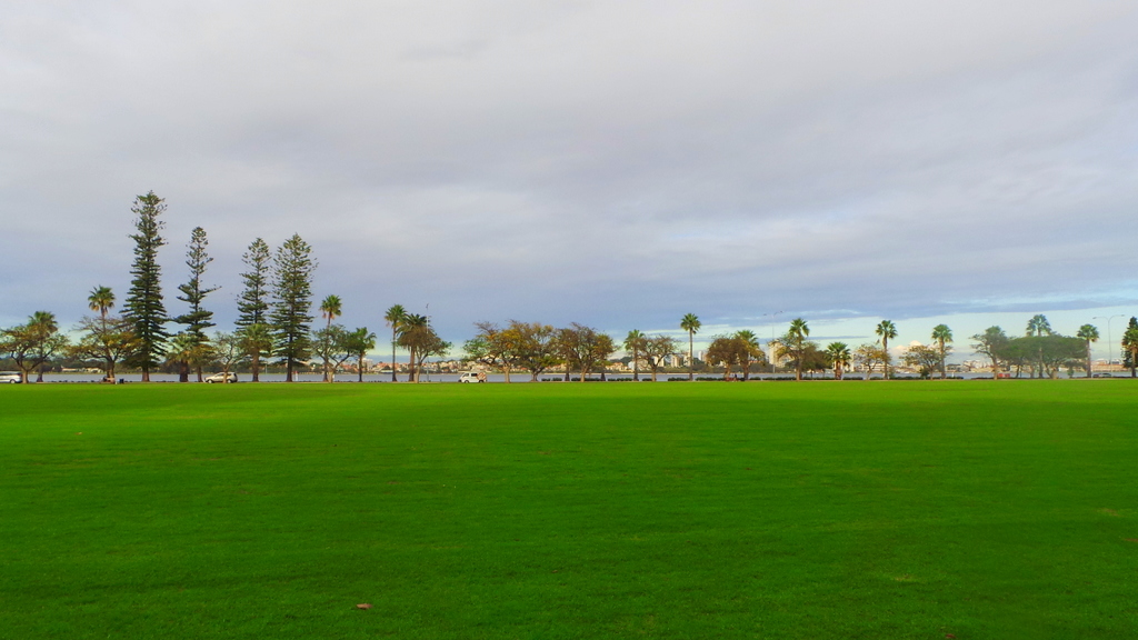 Langley Park, just behind Pan Pacific Perth