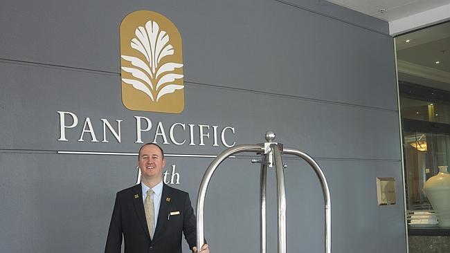 Pan Pacific Perth Concierge ( image source: news.com.au)