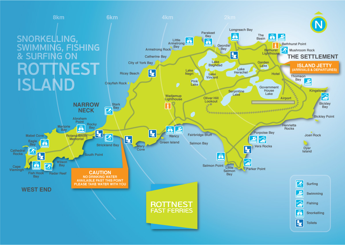 Ferry Service From Perth To Rottnest Island