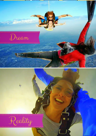 Skydiving over Perth: Dream vs Reality