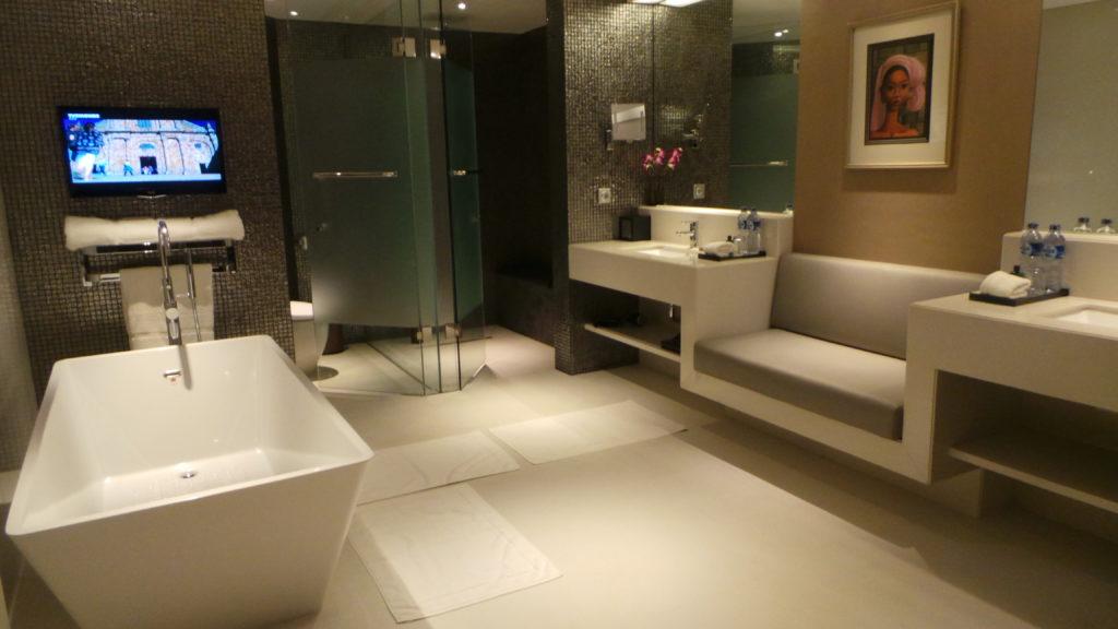 Hotel Bathroom at Double Six Seminyak