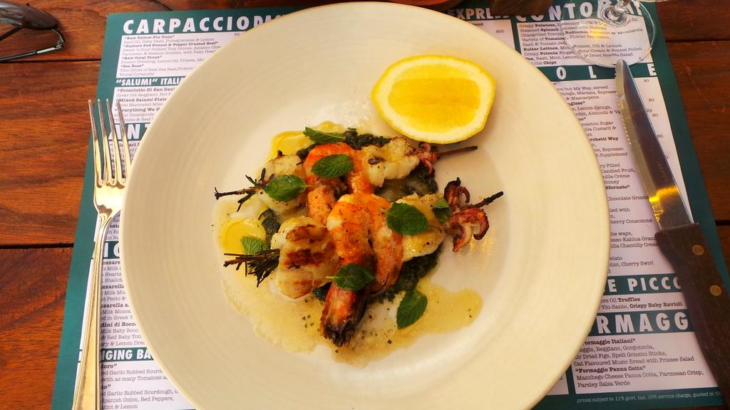 Lance di Pesce - Seminyak Italian Food