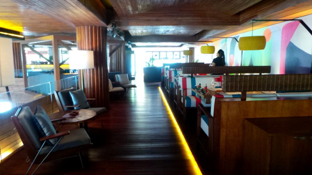 indoor area of Seminyak Italian Food