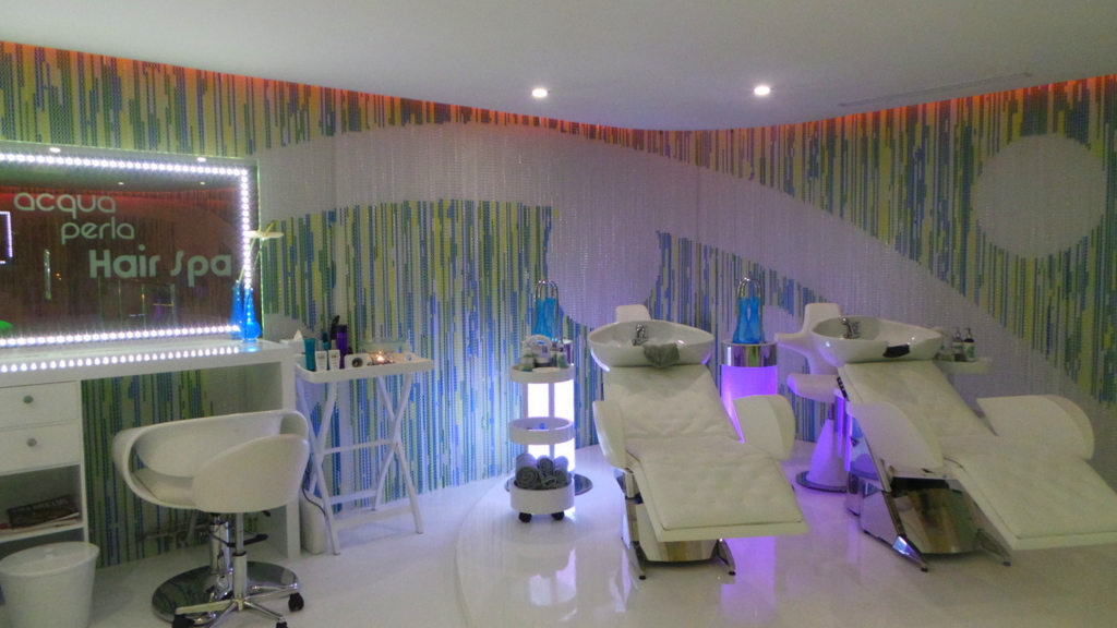 Hair Spa area of Acqua Perla Spa at Double Six Seminyak