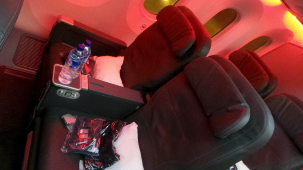business class seats on the Jetstar Dreamliner 787