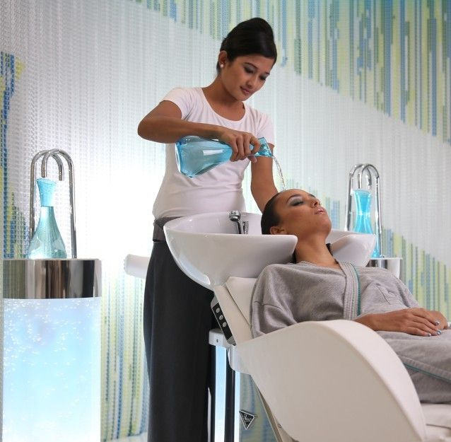 Hair Spa treatment, Acqua Perla Spa at Double Six Seminyak