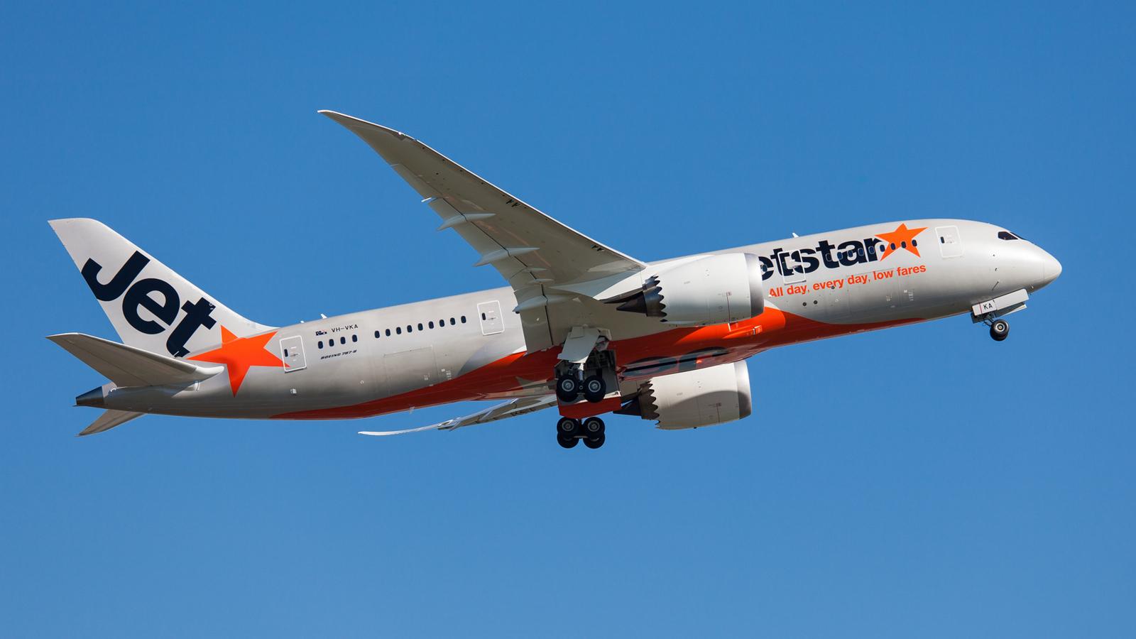 Jetstar Dreamliner Boeing 787